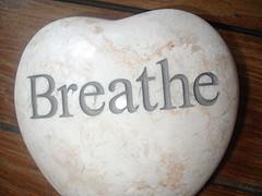 breathing stone reminder